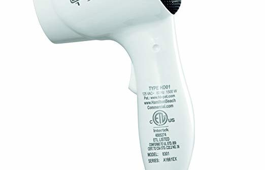 hair dryer for the wall